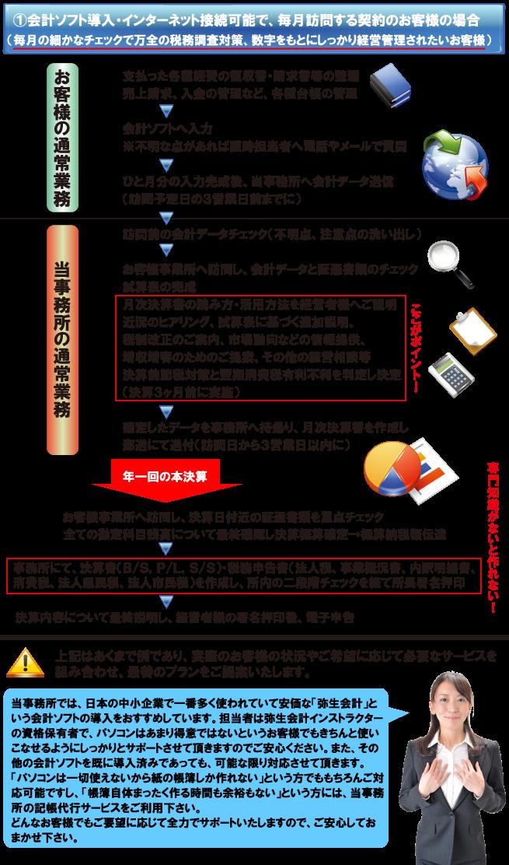 税務会計顧問サービス例1